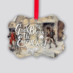 God Bless Us Every One! Picture Ornament