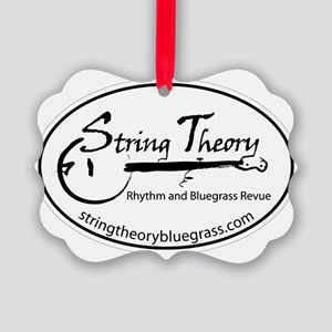 StringTheoryLogo Picture Ornament