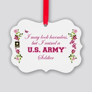 I Raised A Soldier Picture Ornament