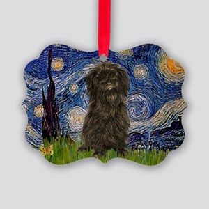 .5.x7.5-Starry-Affen3 Picture Ornament