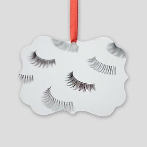False eyelashes - Picture Ornament