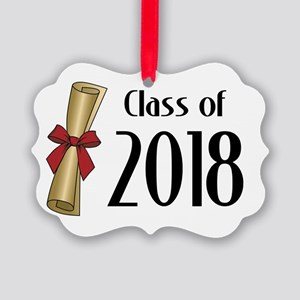 Class of 2018 Diploma Picture Ornament