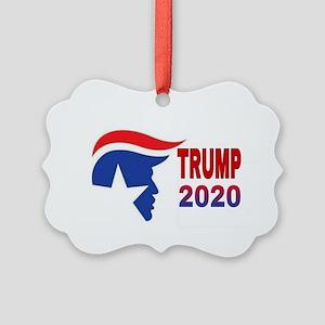 TRUMP 2020 Picture Ornament