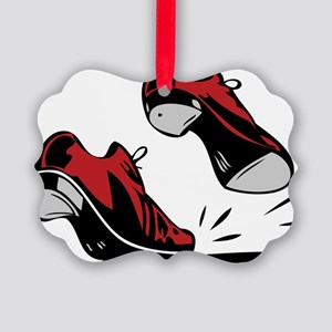 Tap Dancing Shoes Picture Ornament