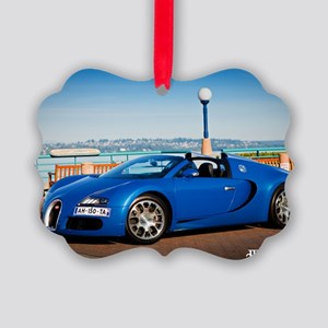 Bugatti5 Picture Ornament