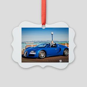 Bugatti5 Picture Ornament