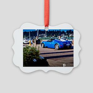 Bugatti7 Picture Ornament