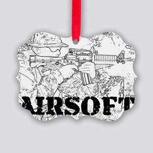 airsoft 010 Picture Ornament
