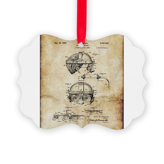 1940 Welders Goggles - Patent