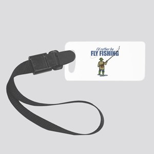 Fly Fishing Small Luggage Tag