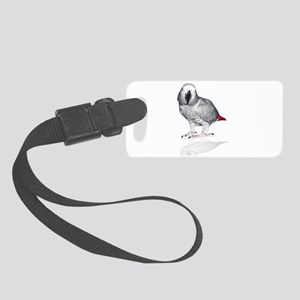 African Grey Parrot Luggage Tag