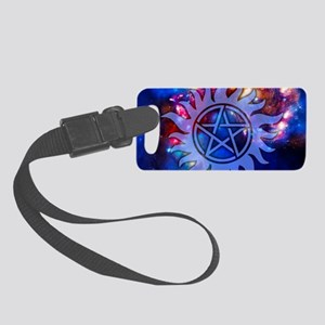 Supernatural Cosmos Small Luggage Tag