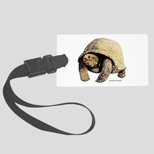 Galapagos Tortoise Large Luggage Tag