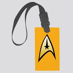 Star Trek Captain Large Luggage Tag