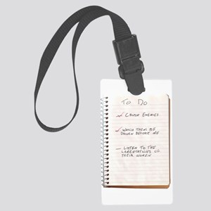 What Is Best In Life? Large Luggage Tag