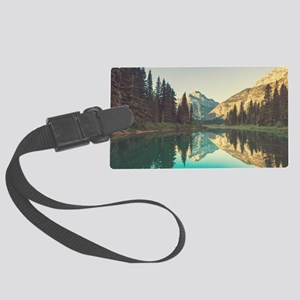 Glacier National Park Luggage Tag