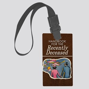 handbook-for-the-recently-deceas Large Luggage Tag