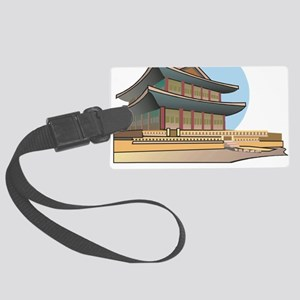 Kyongbok Palace1Bk Large Luggage Tag