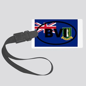 British Virgin Islands Large Luggage Tag
