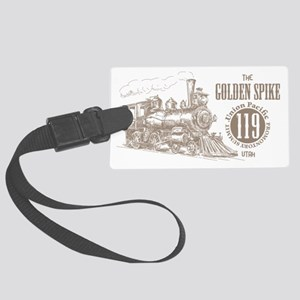 Golden Spike 119 Large Luggage Tag