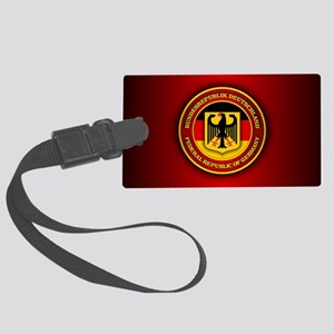 German Emblem Large Luggage Tag