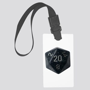 D20 Large Luggage Tag