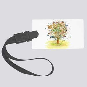 Landscape 466 Tree Large Luggage Tag