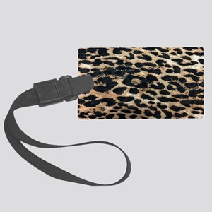 dc45695aff3b Black Brown African Pattern Tribal Cloth Luggage Tags - CafePress