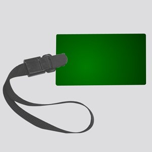 Hunter Green gradient Large Luggage Tag