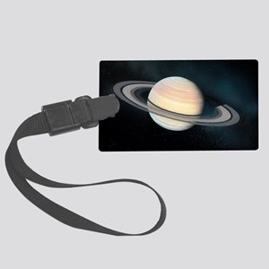 Saturn, artwork Large Luggage Tag