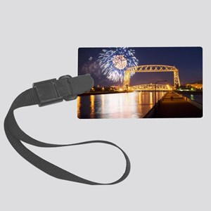 lift bridge Large Luggage Tag