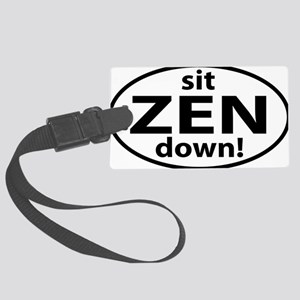 sit down ZEN Large Luggage Tag