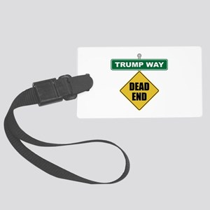 Dead End Hillary Large Luggage Tag