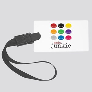 Soda Junkie Luggage Tag