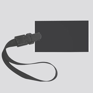 Gray Solid Color Luggage Tag