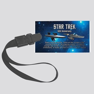 50TH FINAL FRONTIER Large Luggage Tag