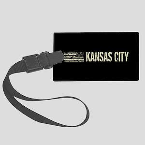 Black Flag: Kansas City Large Luggage Tag