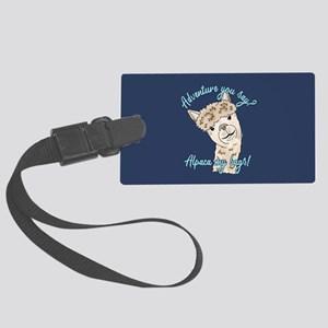 alpaca my Large Luggage Tag