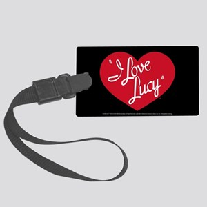 I Love Lucy: Logo Large Luggage Tag