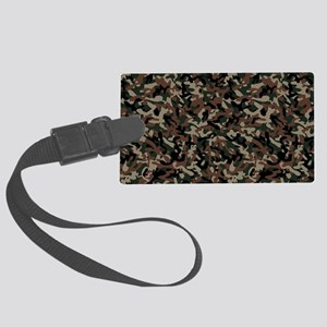Military Action Large Luggage Tag