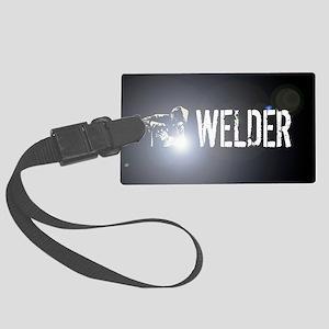 Welding: Stick Welder Large Luggage Tag