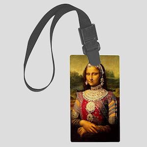 Monalisa Namaste Large Luggage Tag