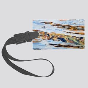 On the rise Large Luggage Tag