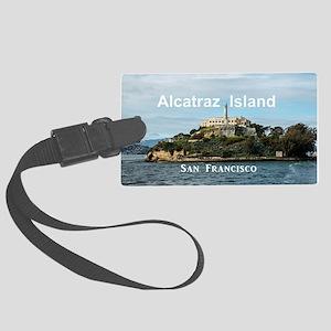 SanFrancisco_18.8x12.6_AlcatrazI Large Luggage Tag