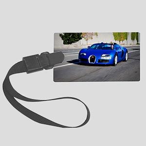 Bugatti10 Large Luggage Tag