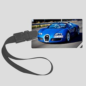 Bugatti9 Large Luggage Tag