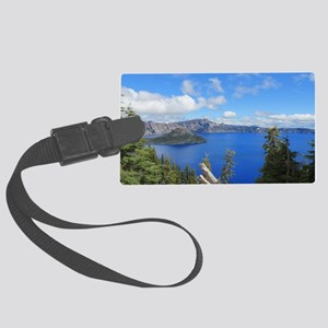 Crater Lake National Park Large Luggage Tag