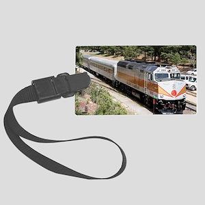 Railway Locomotive, Grand Canyon Large Luggage Tag