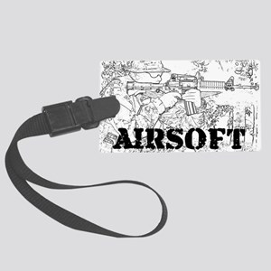 airsoft 010 Large Luggage Tag