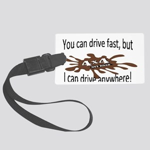 4x4 Drive anywhere! Large Luggage Tag
